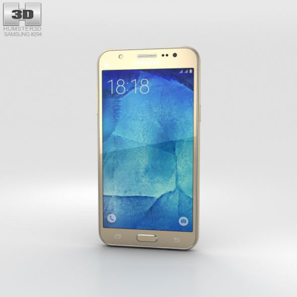 Samsung Galaxy J5 Gold - 3DOcean Item for Sale