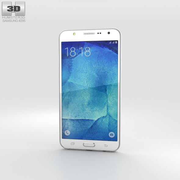 Samsung Galaxy J7 White - 3DOcean Item for Sale