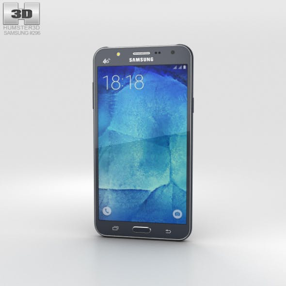 Samsung Galaxy J7 Black - 3DOcean Item for Sale