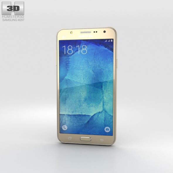 Samsung Galaxy J7 Gold - 3DOcean Item for Sale