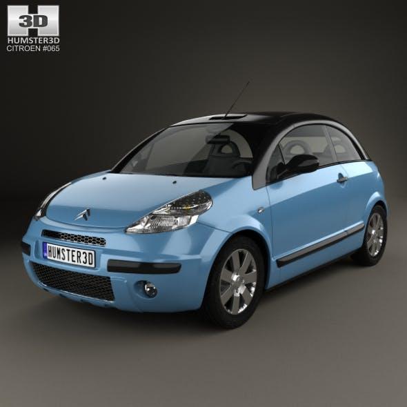 Citroen C3 Pluriel 2006 - 3DOcean Item for Sale