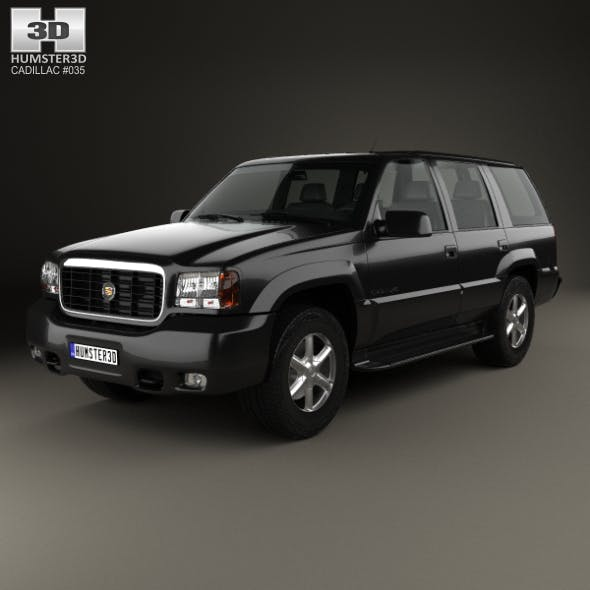 Cadillac Escalade 1999 - 3DOcean Item for Sale
