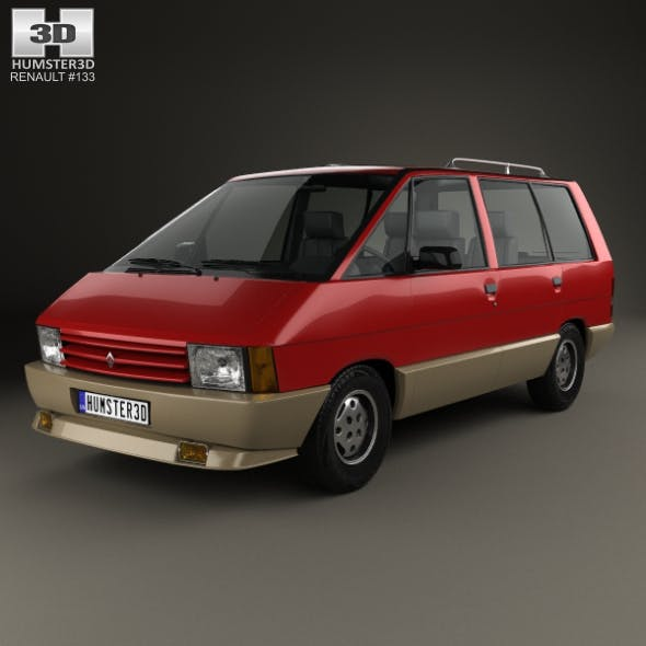 Renault Espace 1984 - 3DOcean Item for Sale