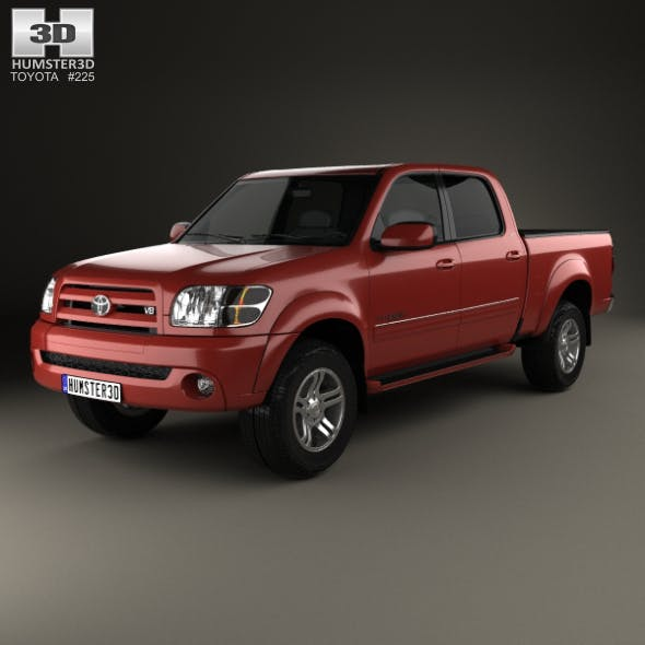 Toyota Tundra Double Cab 2003 - 3DOcean Item for Sale
