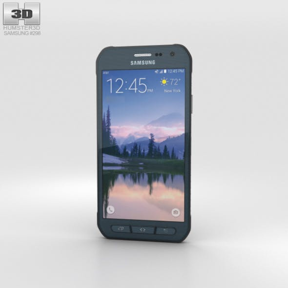 Samsung Galaxy S6 Active Blue - 3DOcean Item for Sale