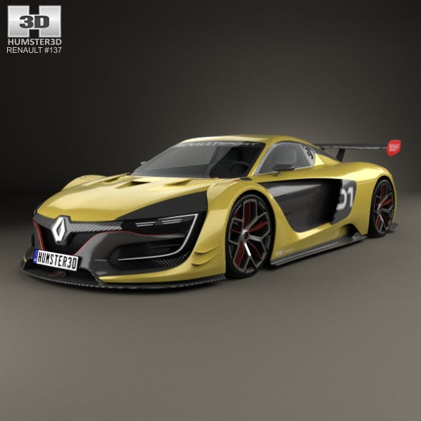 Renault Sport R.S. 01 2015 - 3DOcean Item for Sale