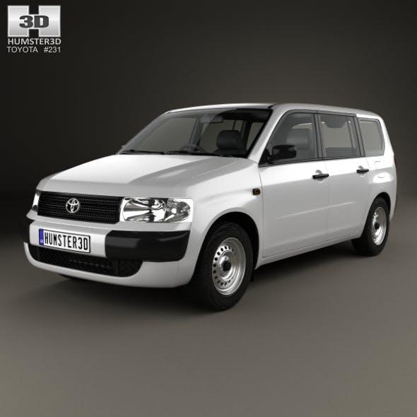 Toyota Probox Van 2002 - 3DOcean Item for Sale