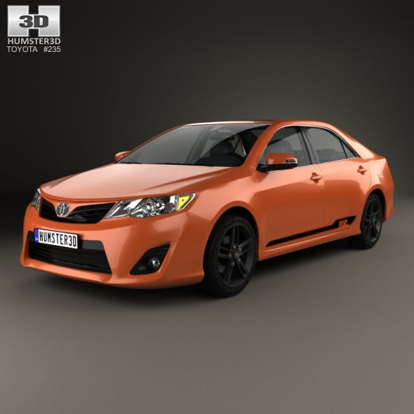 Toyota Camry (XV50) RZ SE 2014 - 3DOcean Item for Sale