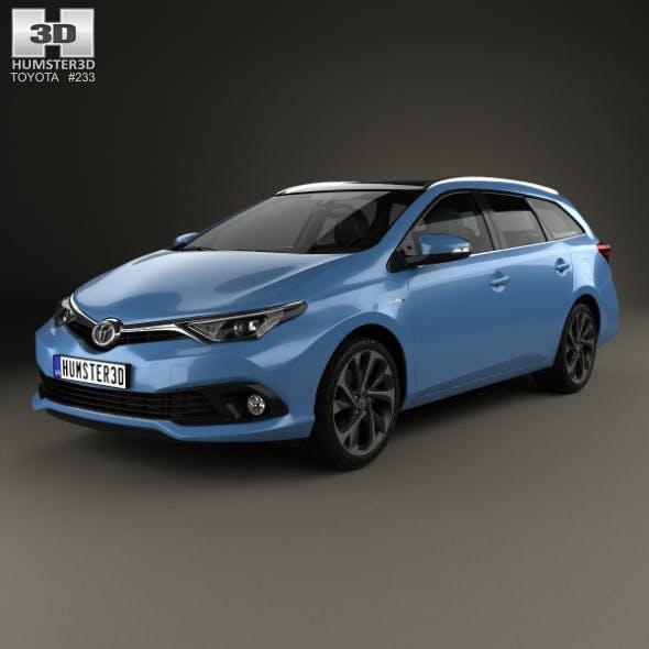 Toyota Auris Touring Sports Hybrid 2015