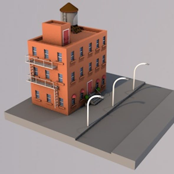 New York Style Building