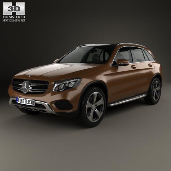 Mercedes-Benz GLC-Class (X205) 2015 - 3DOcean Item for Sale