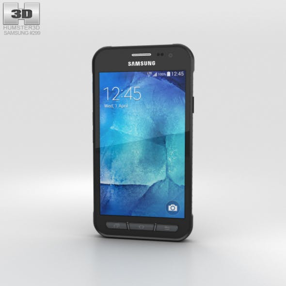 Samsung Galaxy Xcover 3 Gray - 3DOcean Item for Sale