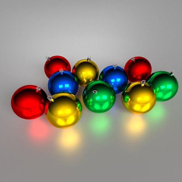 Noel Ornaments - 3DOcean Item for Sale