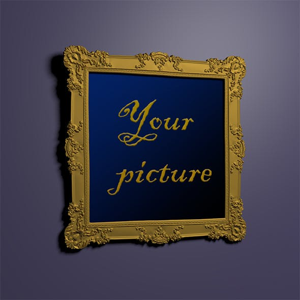 Picture frame - 3DOcean Item for Sale
