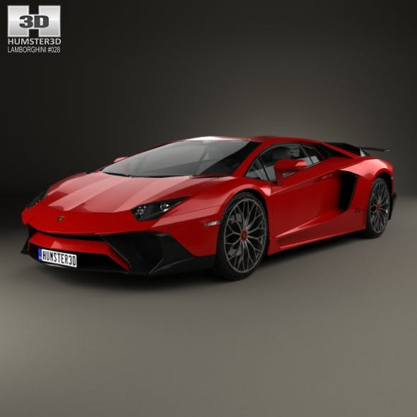 Lamborghini Aventador LP 750-4 Superveloce 2015 - 3DOcean Item for Sale