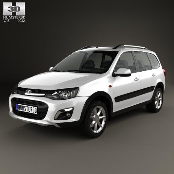 VAZ Lada Kalina (2194) Cross 2014 - 3DOcean Item for Sale