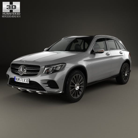 Mercedes-Benz GLC-Class (X205) AMG Line 2015 - 3DOcean Item for Sale
