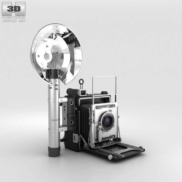 Graflex Crown Graphic Press Camera - 3DOcean Item for Sale