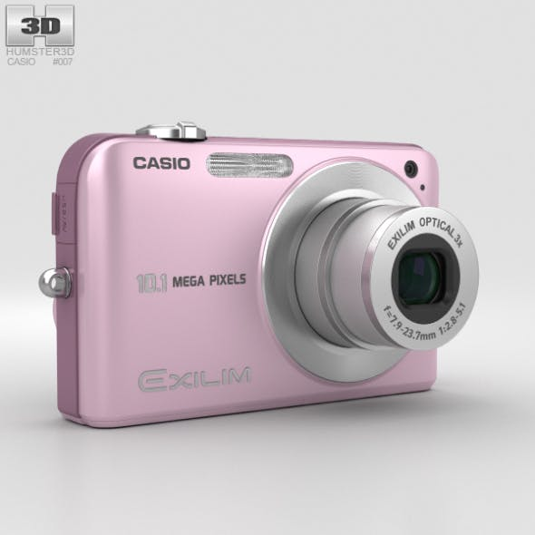 Casio Exilim EX- Z1050 Pink - 3DOcean Item for Sale
