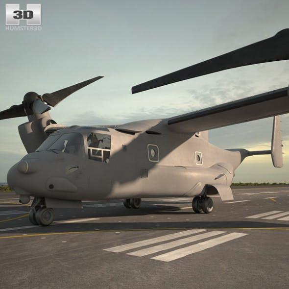 Bell Boeing V-22 Osprey - 3DOcean Item for Sale