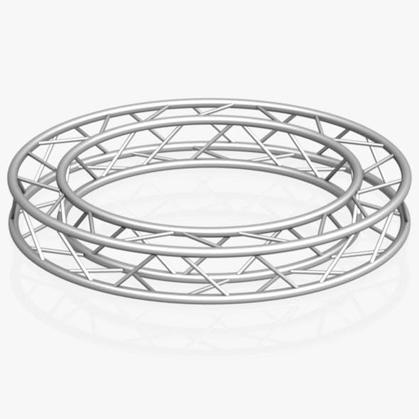 Circle Square Truss (Full diameter 200cm) - 3DOcean Item for Sale