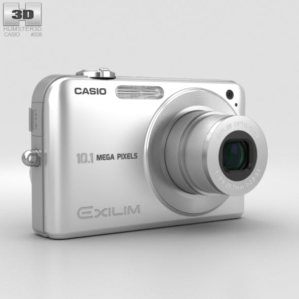 Casio Exilim EX- Z1050 Silver - 3DOcean Item for Sale