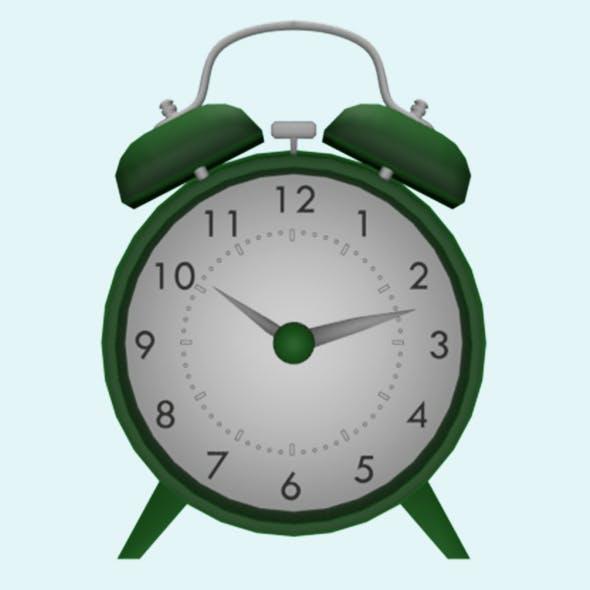 Fully Animatable Alarm Clock