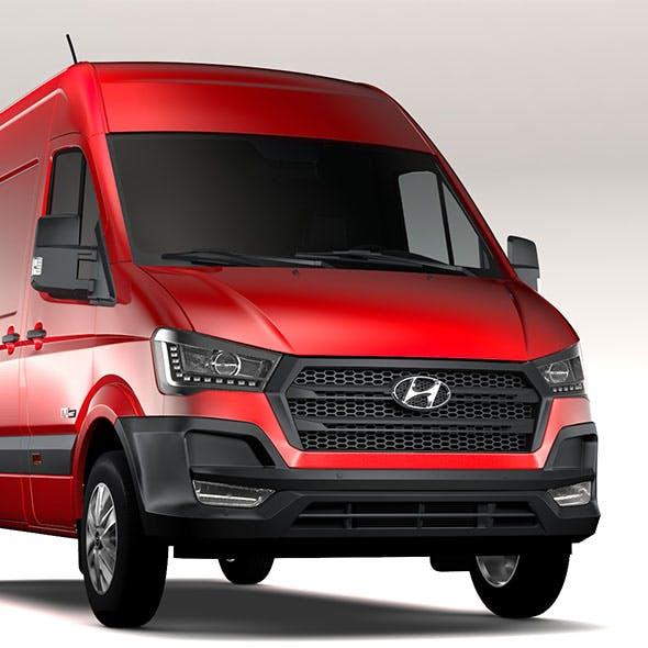 Hyundai H350 Van SWB 2017 - 3DOcean Item for Sale