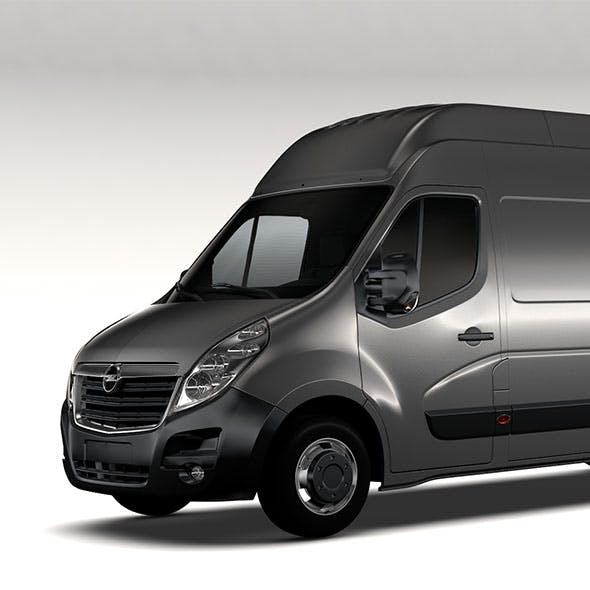 Opel Movano L4H3 Van 2016 - 3DOcean Item for Sale