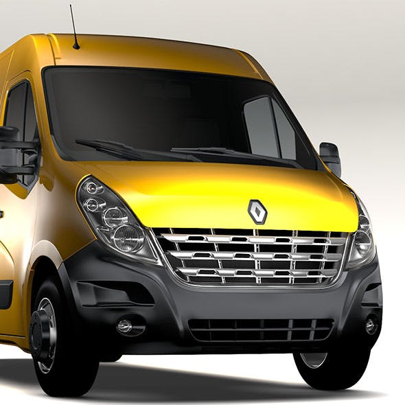Renault Master L3H2 Van 2010