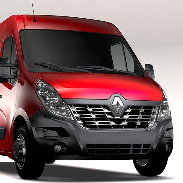 Renault Master L3H2 Van 2017