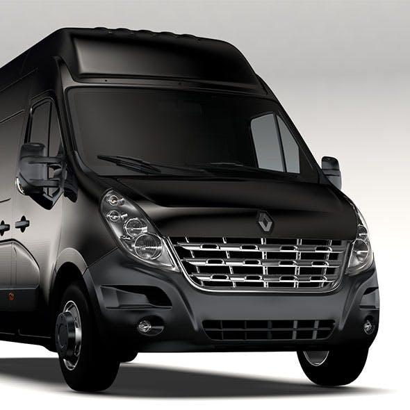 Renault Master L4H3 Van 2010 - 3DOcean Item for Sale