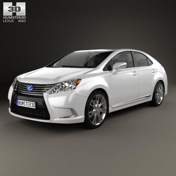 Lexus HS 2014 - 3DOcean Item for Sale