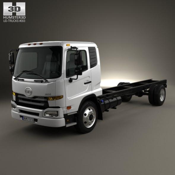 UD Trucks UD1800 Chassis Truck 2011