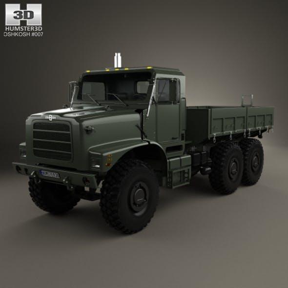 Oshkosh Terramax Flatbed Truck 2013 - 3DOcean Item for Sale