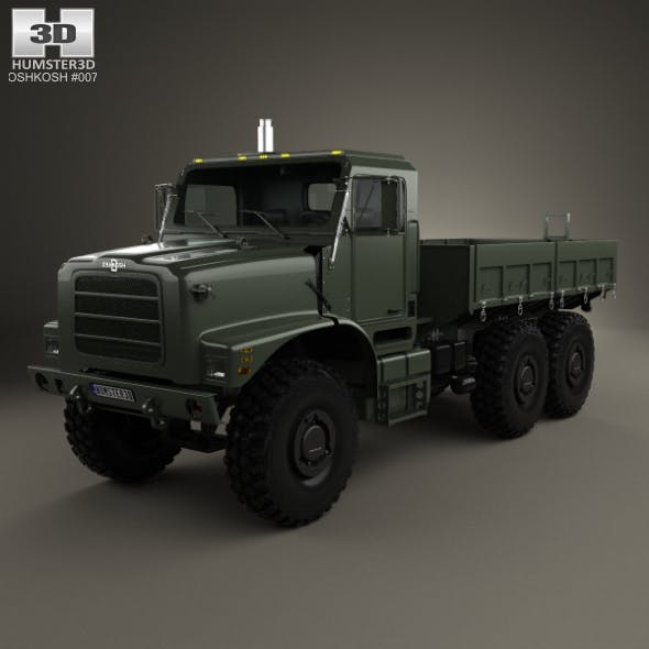 Oshkosh Terramax Flatbed Truck 2013