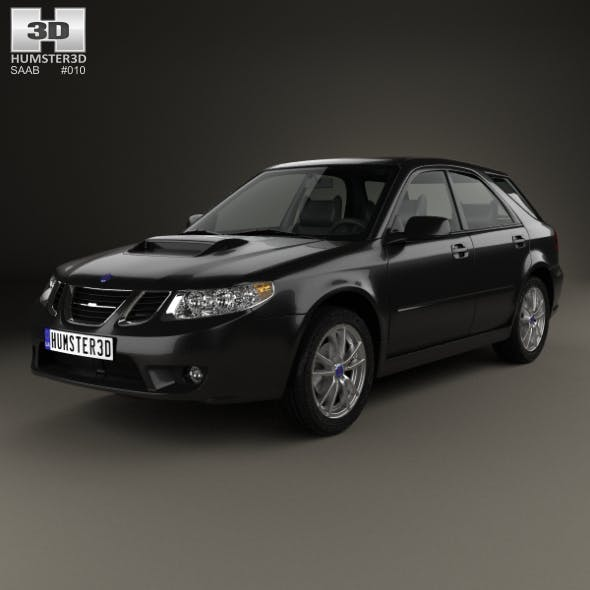 Saab 9-2X 2004 - 3DOcean Item for Sale