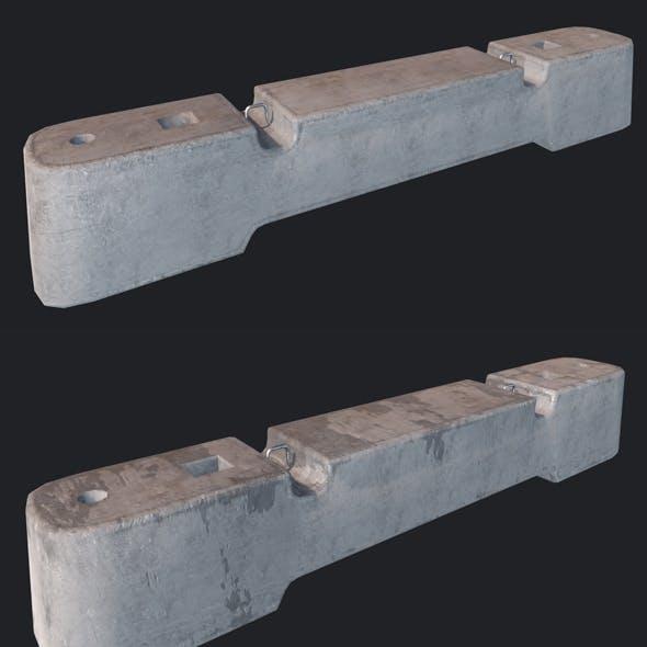 Concrete Barriers PBR