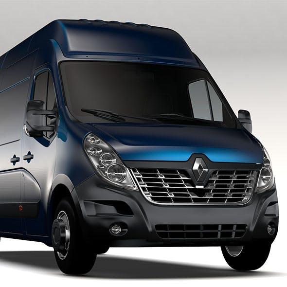 Renault Master L4H3 Van 2017 - 3DOcean Item for Sale