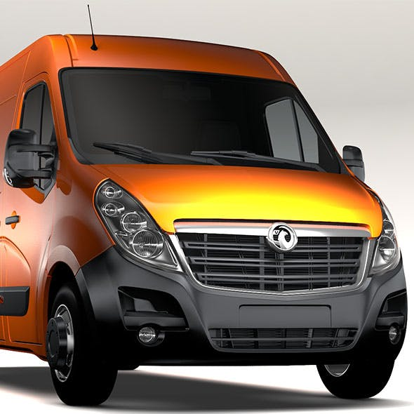 Vauxhall Movano L3H2 Van 2016 - 3DOcean Item for Sale