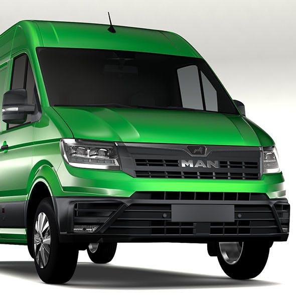 MAN TGE Van L2H2 2017 - 3DOcean Item for Sale