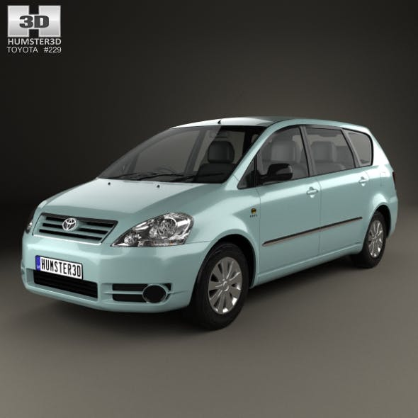 Toyota Avensis Verso 2001 - 3DOcean Item for Sale