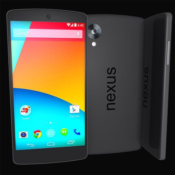 Nexus 5 Google - 3DOcean Item for Sale