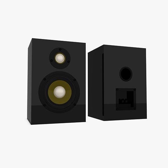 Speaker Box - 3DOcean Item for Sale