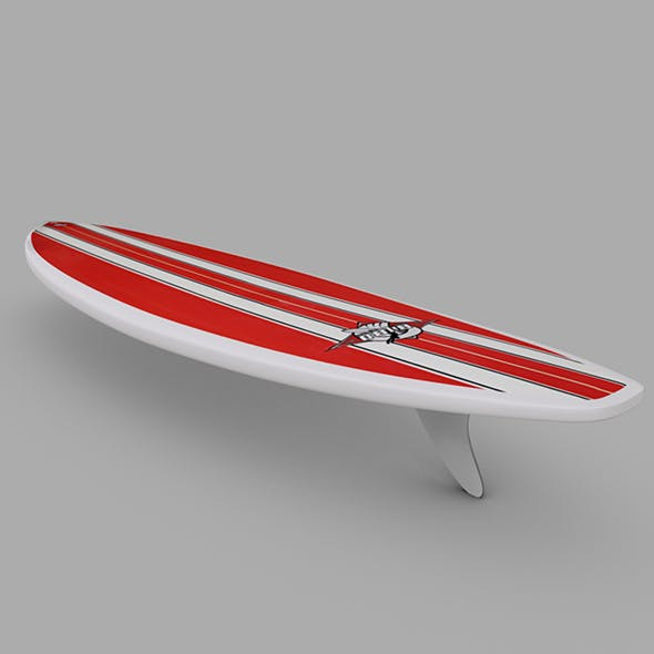 Surfboard 02 - 3DOcean Item for Sale