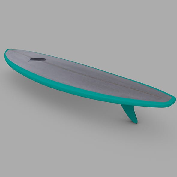 Surfboard 03 - 3DOcean Item for Sale