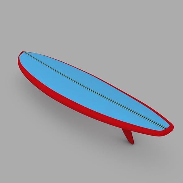 Surfboard 04 - 3DOcean Item for Sale