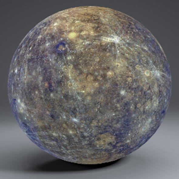 Mercury 8k Globe