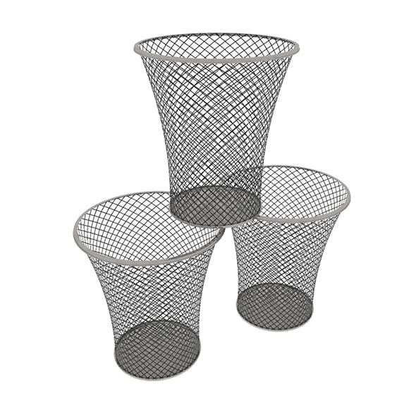Wastebasket 01 - 3DOcean Item for Sale