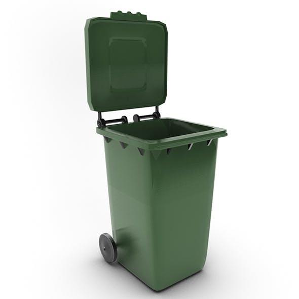 Wastebasket 04 - 3DOcean Item for Sale